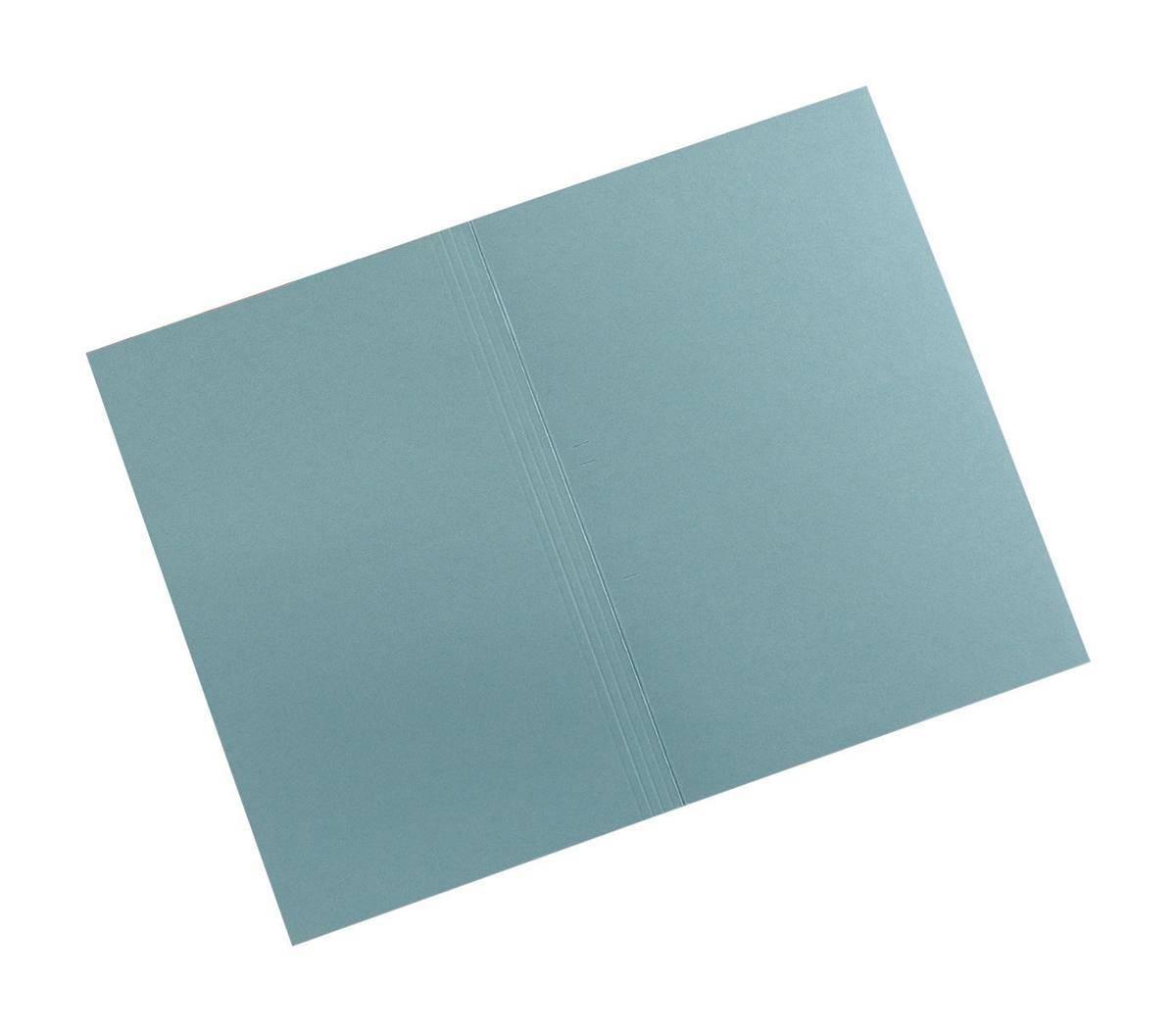 Guildhall Square Cut Folders Manilla 315gsm Foolscap Blue Ref FS315-BLUZ [Pack 100]