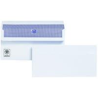 Plus Fabric Envelopes Wallet Press Seal 110gsm DL White [Pack 500]