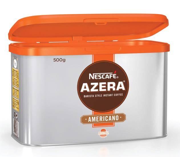Nescafe Azera Barista Style Instant Coffee Americano 500g Ref 12284221