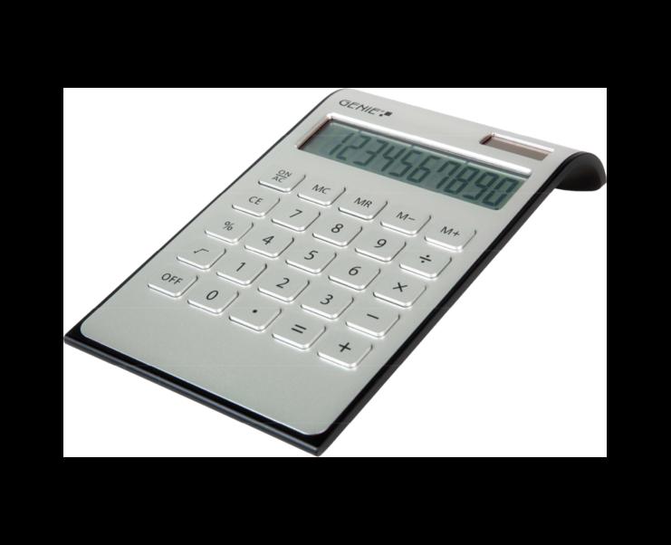 Genie DD400 Desktop Calculator Silver