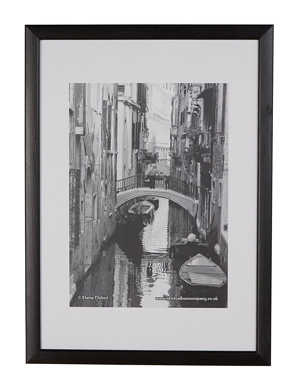 Photo Album Co A3 Poster Display Frame Black Wood