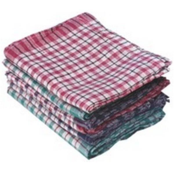 ROBERT SCOTT Tea Towel Big Check Assorted (Pack 10)