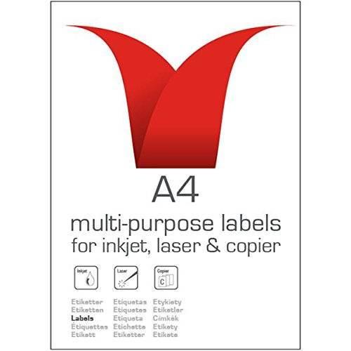 Stampiton Value Multipurpose Label 99.1x139mm 4 Per Sht (400 Labels)