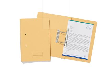 Exacompta Value Transfer File Fooldscap Yellow TFM-YLWZ - (PK25)