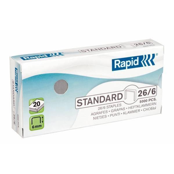 Rapid Leitz Rapid Staples 26/6mm 24861800 (PK5000)