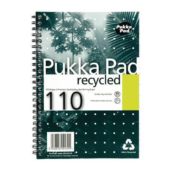Pukka Pukka A5 Recycled Pad PK3