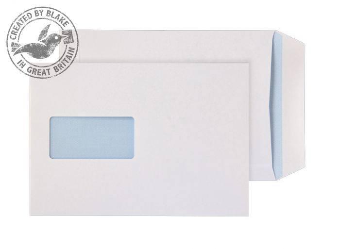 Blake Value Business Pocket S/S Win C5 229x162mm White PK500