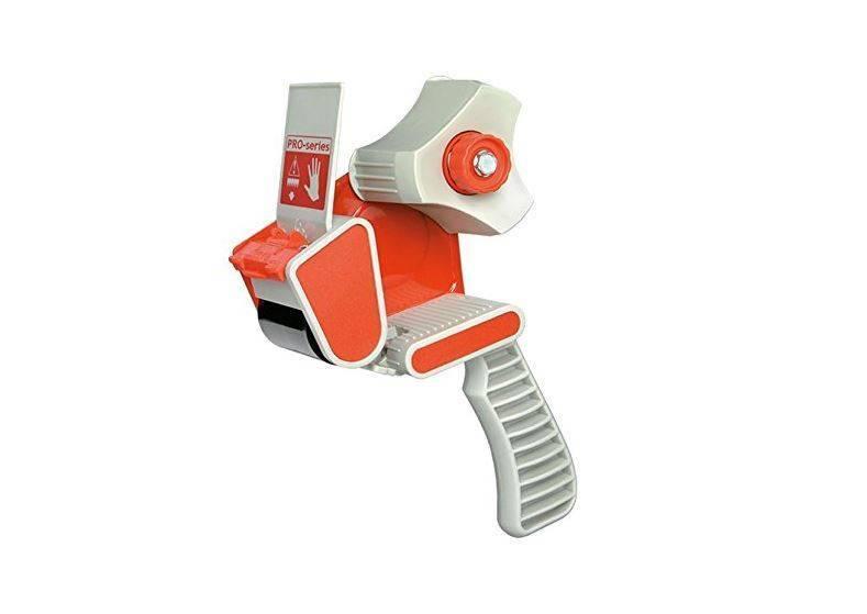 Pacplus Standard 50mm Pistol Grip Tape Dispenser Red