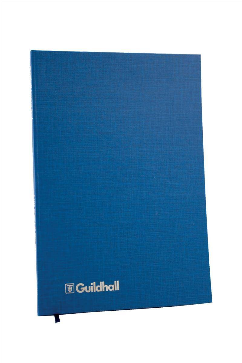 Guildhall Account Book 31 Series 14 Cash Column 80 Pages 298x203mm Ref 31/14Z