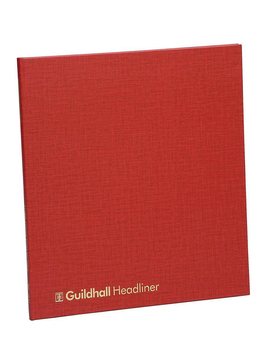 Guildhall Headliner Account Book 48 Series 21 Cash Column 80 Pages 298x273mm Ref 48/21Z