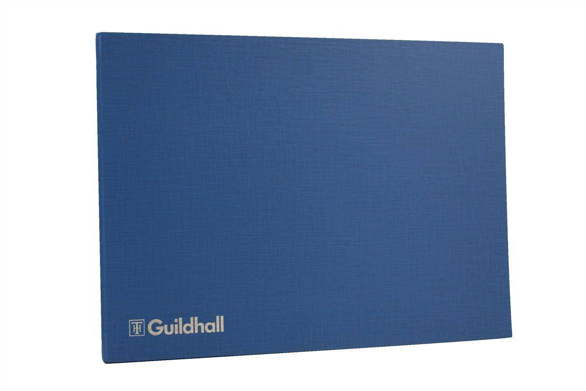 Guildhall Account Book 61 Series 6/20 Petty Cash Column 80 Pages 298x406mm Ref 61-20Z
