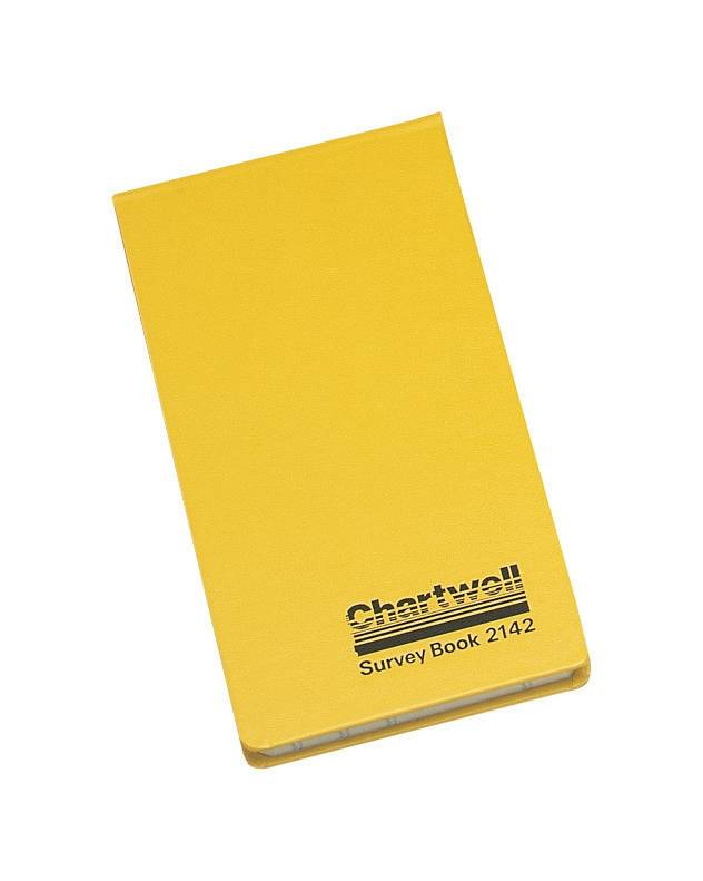 Chartwell Survey Book Field Weather Resistant Top Opening 80 Leaf 106x165mm Ref 2206Z