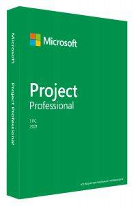Microsoft H30-05950 Project Professional 2021 Win English P8 1 License Medialess
