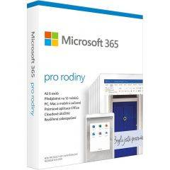 Microsoft 6GQ-01556 365 Family [UK] 1Y Subscr.P8 Formerly Office 365 Home