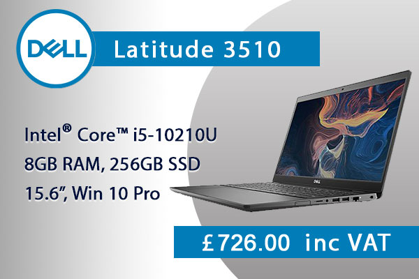 DELL Latitude 3510 Gray VCFVM