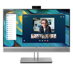 "HP EliteDisplay E243m 1FH48AA#ABU 23.8"" Full HD IPS Silver Speaker + WebCam"