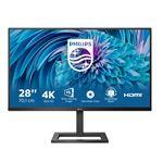 Philips E Line 288E2UAE/00 computer monitor 71.1 cm 28IN 3840 x 2160 pixels 4K Ultra HD LCD Black