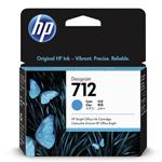 HP 3ED67A (712) Ink cartridge cyan, 29ml