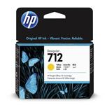 HP 3ED69A (712) Ink cartridge yellow, 29ml
