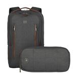 "Wenger/SwissGear CityUpgrade 16"" notebook case 40.6 cm (16"") Backpack Grey 606489"