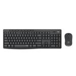 Logitech MK295 Silent Wireless Combo keyboard RF Wireless QWERTY UK English Black 920-009799