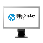 "HP Elite Display E271i 27"" D7Z72AT#ABU FHD Monitor 7 ms 1920 x 1080 DP DVI-D VGA"