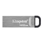 Kingston Technology DataTraveler Kyson USB flash drive 128 GB USB Type-A 3.2 Gen 1 (3.1 Gen 1) Silver DTKN/128GB