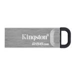 Kingston Technology DataTraveler Kyson USB flash drive 256 GB USB Type-A 3.2 Gen 1 (3.1 Gen 1) Silver DTKN/256GB