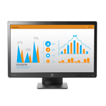 "HP ProDisplay P232 23"" K7X31AT Full HD Monitor LED DP VGA 5ms 1920 x 1080"