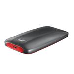 Samsung X5 500 GB Gray, Red MU-PB500BWW
