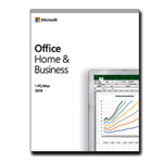 Microsoft Office Home and Business 2019 T5D-03308 English EuroZone 1 License Medialess
