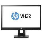 HP VH22 21.5-inch Monitor X0N05AA FHD 1920 x1080 DVI DP VGA Height Adjust