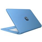 HP Stream 14-AX000NA X9W65EA#ABU Cel N3060 4GB 32GBSSD 14IN BT CAM Win 10 Home Blue Refurb (Office 365 Not Included)
