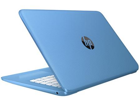 HP Stream 14-AX000NA Cel N3060 4GB 32GB SSD 14IN BT CAM Win 10 Home Blue Refurb X9W65EA#ABU