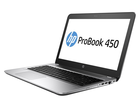 HP ProBook 450 G4 Y8A06ET#ABU Core i3-7100U 4GB 500GB DVDRW 15.6IN BT CAM Win 10 Pro